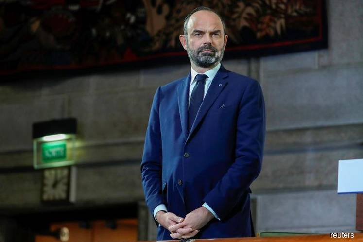 French Prime Minister Edouard Philippe (Photo by Reuters)
