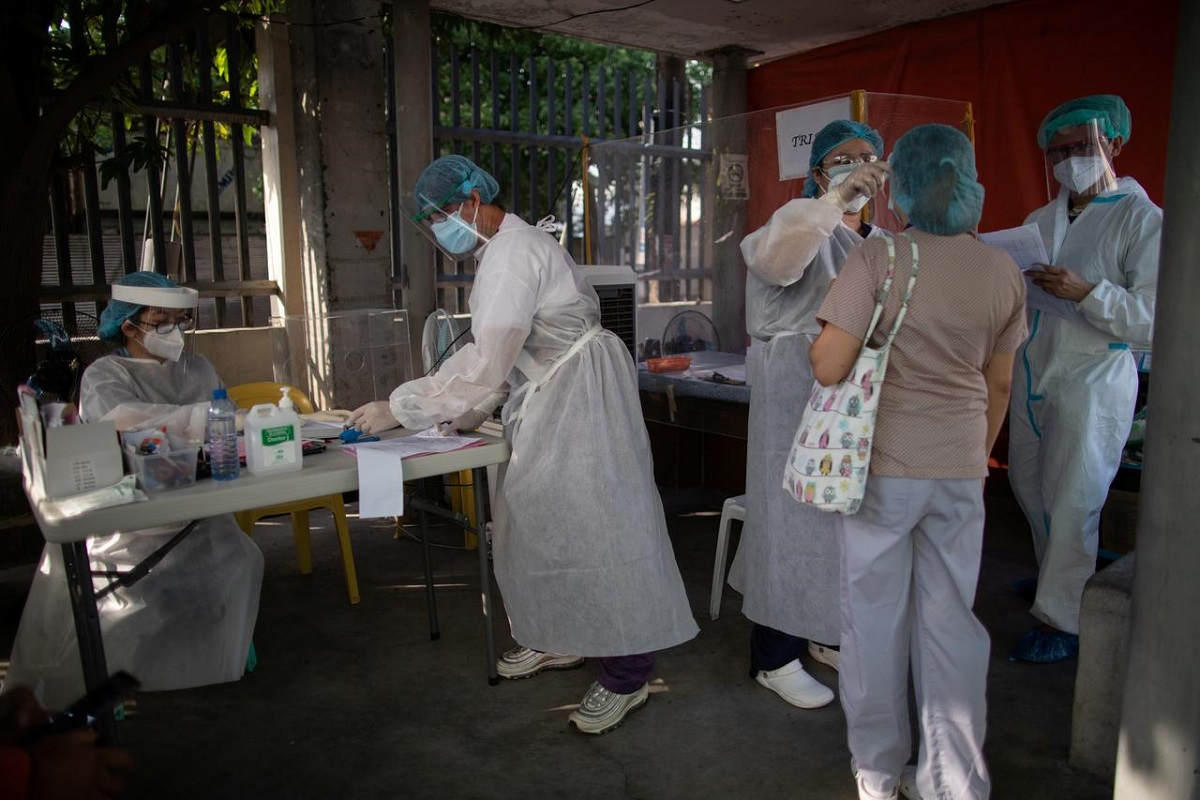 Philippines confirms nearly 5,000 new coronavirus cases, largest single-day increase