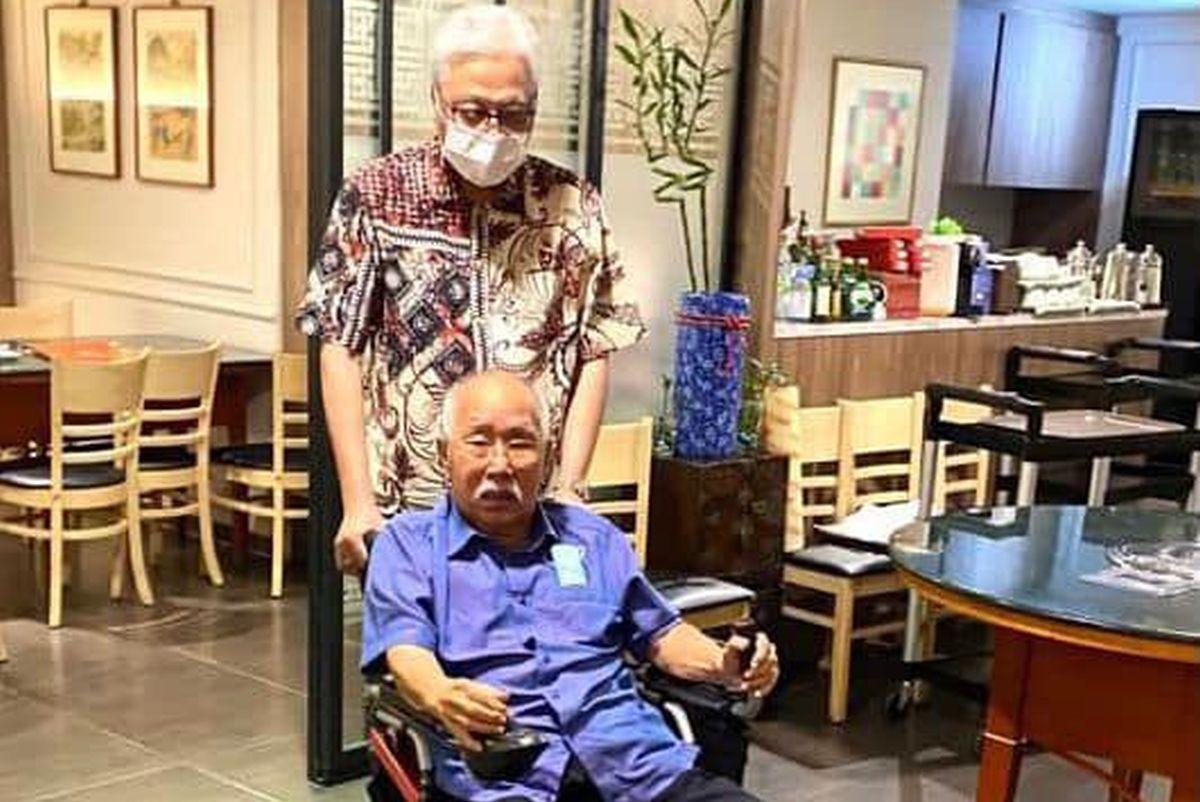 PM Ismail Sabri attributes political success to ex-Minister and 'sifu' Sabaruddin Chik