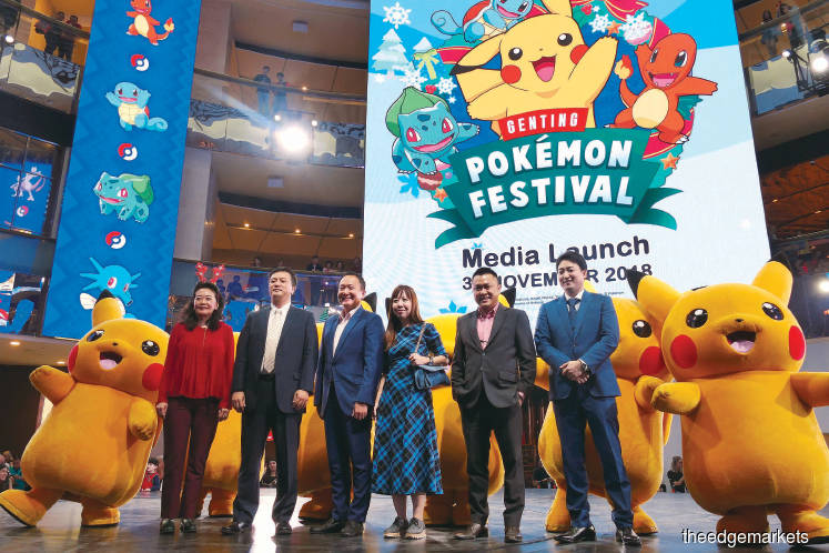 Festival: Malaysia's first Pokémon Festival at Resorts World Genting
