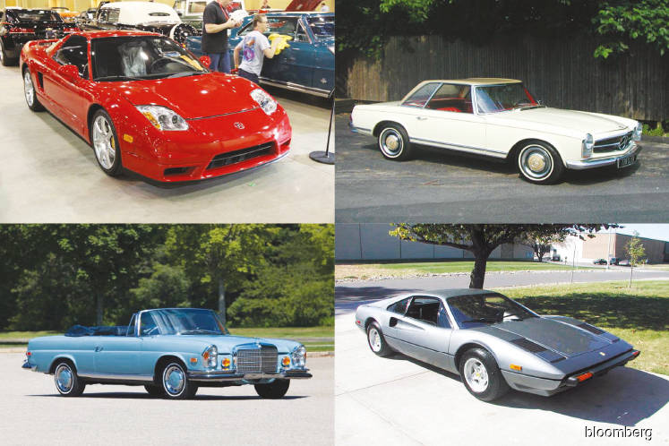 Classic Porsche, Rolls-Royce, and Ferrari models are losing steam