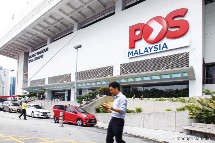 Pos Malaysia up 10% after proposing four sen dividend