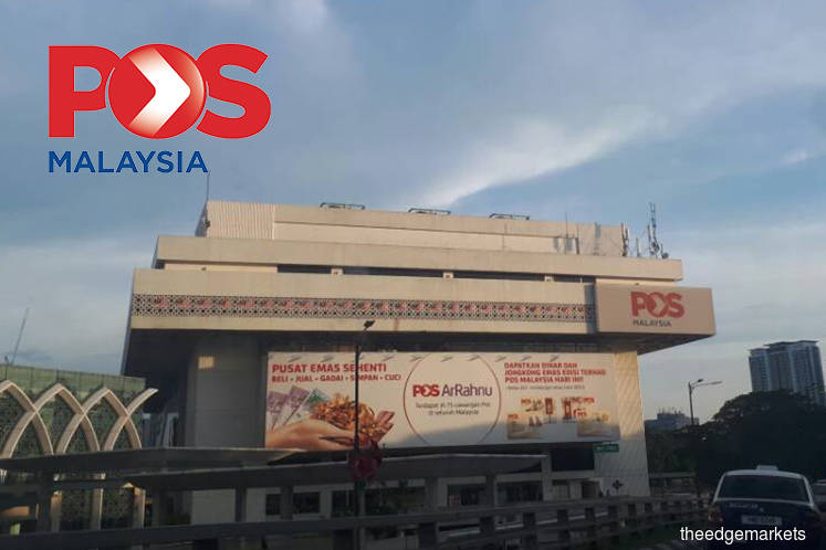 Pos Malaysia's share price plunges 11% after reporting FY19 loss