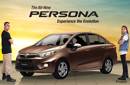 Proton unveils the new Persona