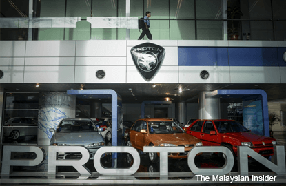 Don't blame Proton for high car prices, says Dr Mahathir