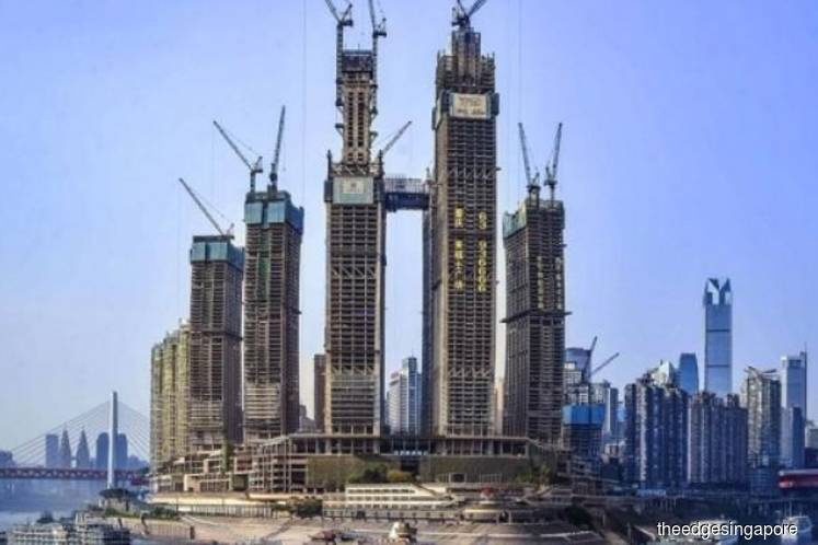 CapitaLand says Raffles City Chongqing 80% completed, on track to open in phases from 2Q19