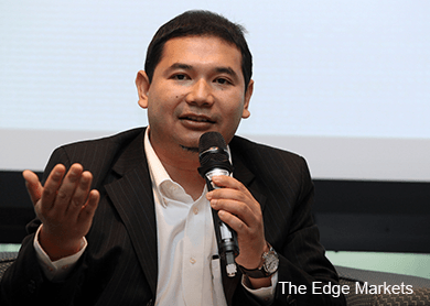 Rafizi moots law to bar same person holding PM, finance minister posts
