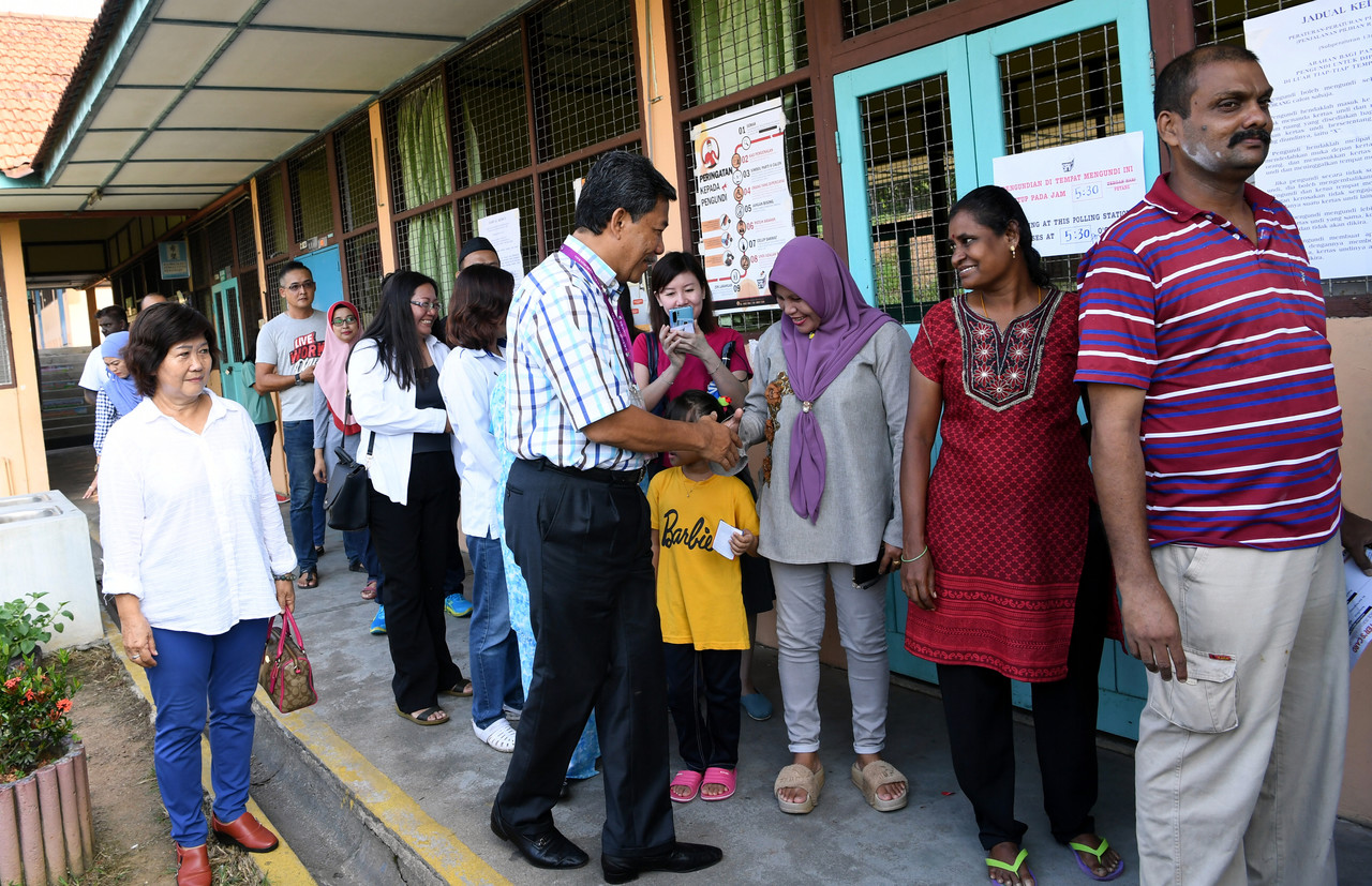 Police tell Rantau voters to cast ballots early, avoid provocation