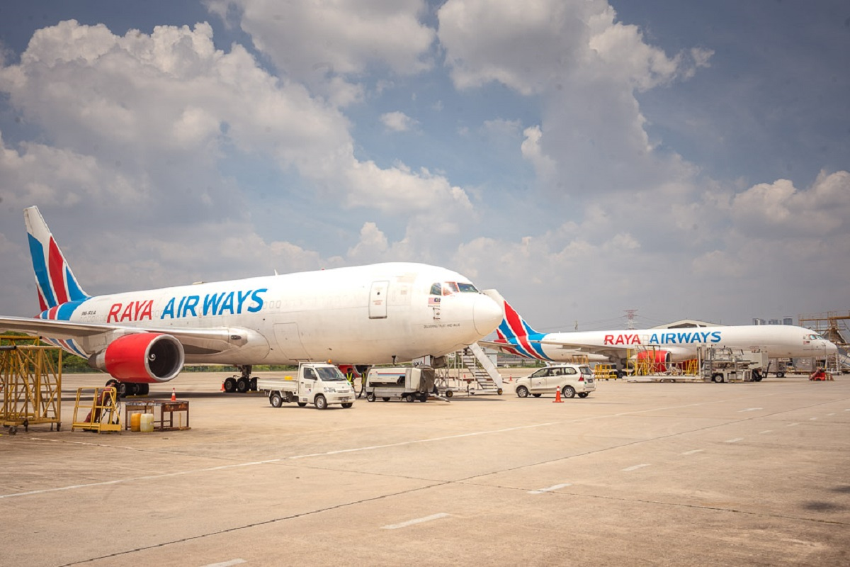 Raya Airways first Malaysian freight service to operate to Nanning