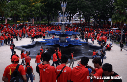 'Red shirt' rally shows need to pass unity bills — NUCC