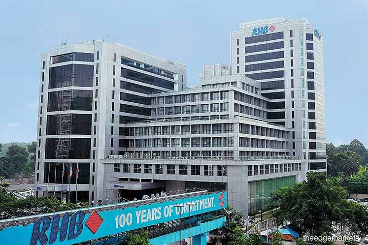 RHB Bank up 1.6% on ending talks to sell insurance unit to Tokio Marine