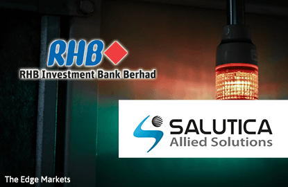 RHB Investment is Salutica's underwriter