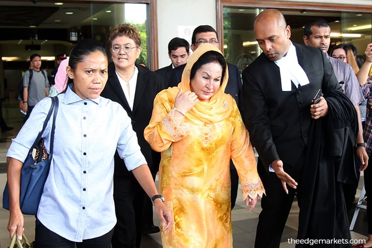 Bid for joint trial of Rosmah's money laundering, graft cases to be heard on May 24