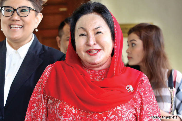 Lebanese jeweller's RM60m suit against Rosmah in limbo as court will only decide on trial day if it will proceed