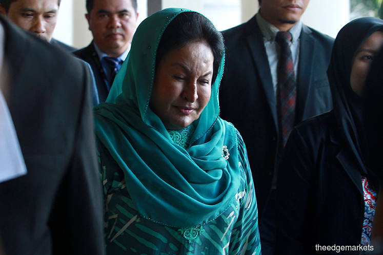 Rosmah arrives in court to face charges over solar hybrid project