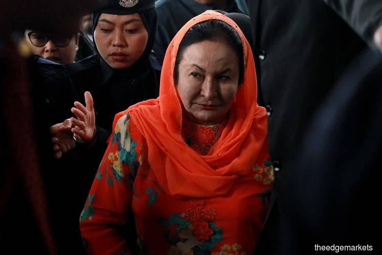 罗斯玛抵达吉隆坡法庭 面对洗钱指控