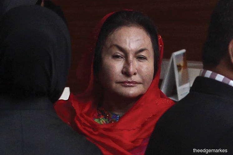 Court wants govt to confirm whether 44 jewellery items sent to Rosmah seized by police