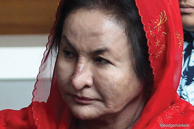 Rosmah's case gets netizens' attention