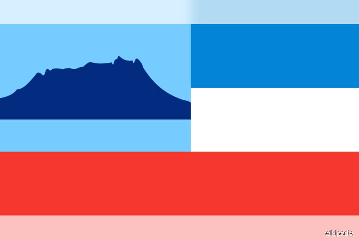 Sabah flag photo for illustration purpose only