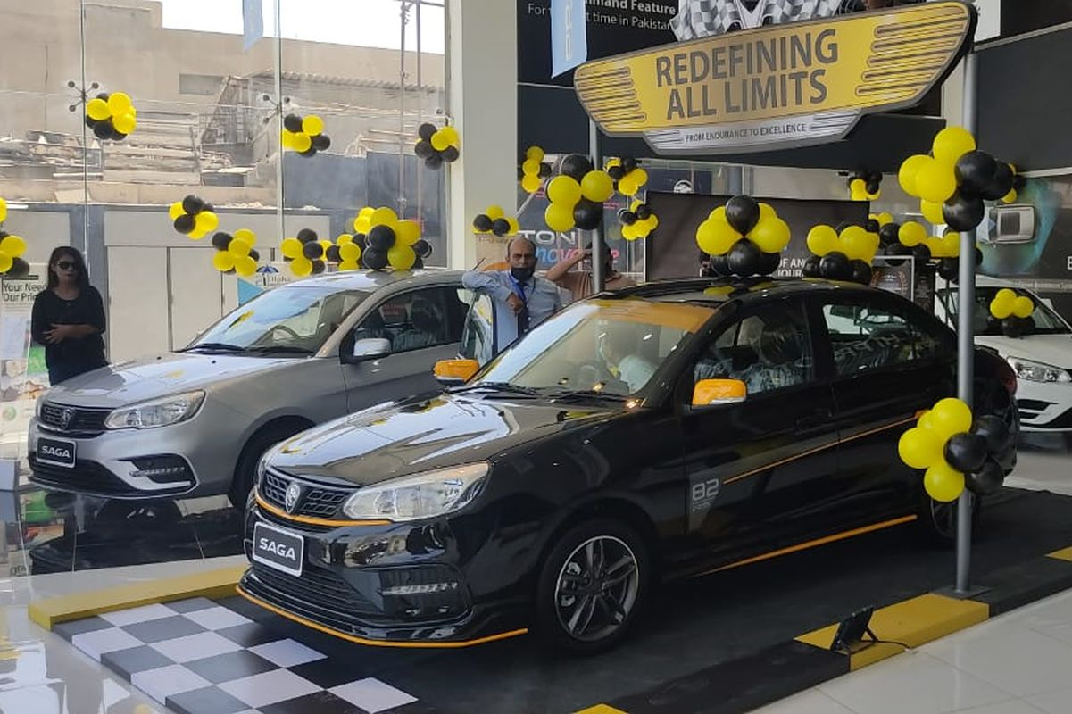 Proton launches Saga in Pakistan