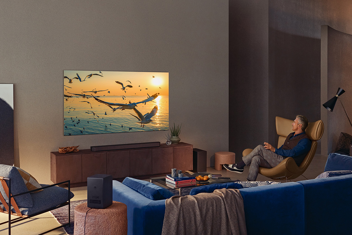 Get the most out of your TV viewing experience with the Samsung Neo QLED 8K