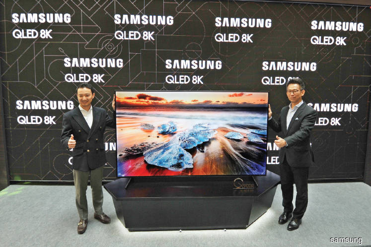 Samsung unveils largest 8K TV screen in Malaysia | The Edge
