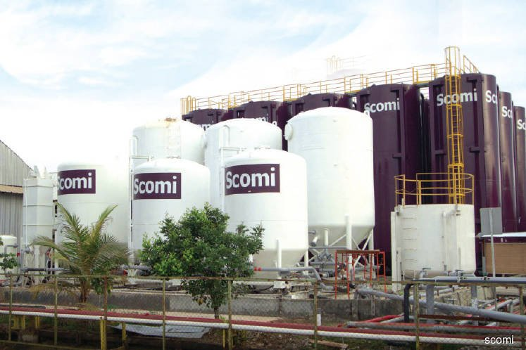 Scomi Group falls as much as 16% after making cash call to recapitalise
