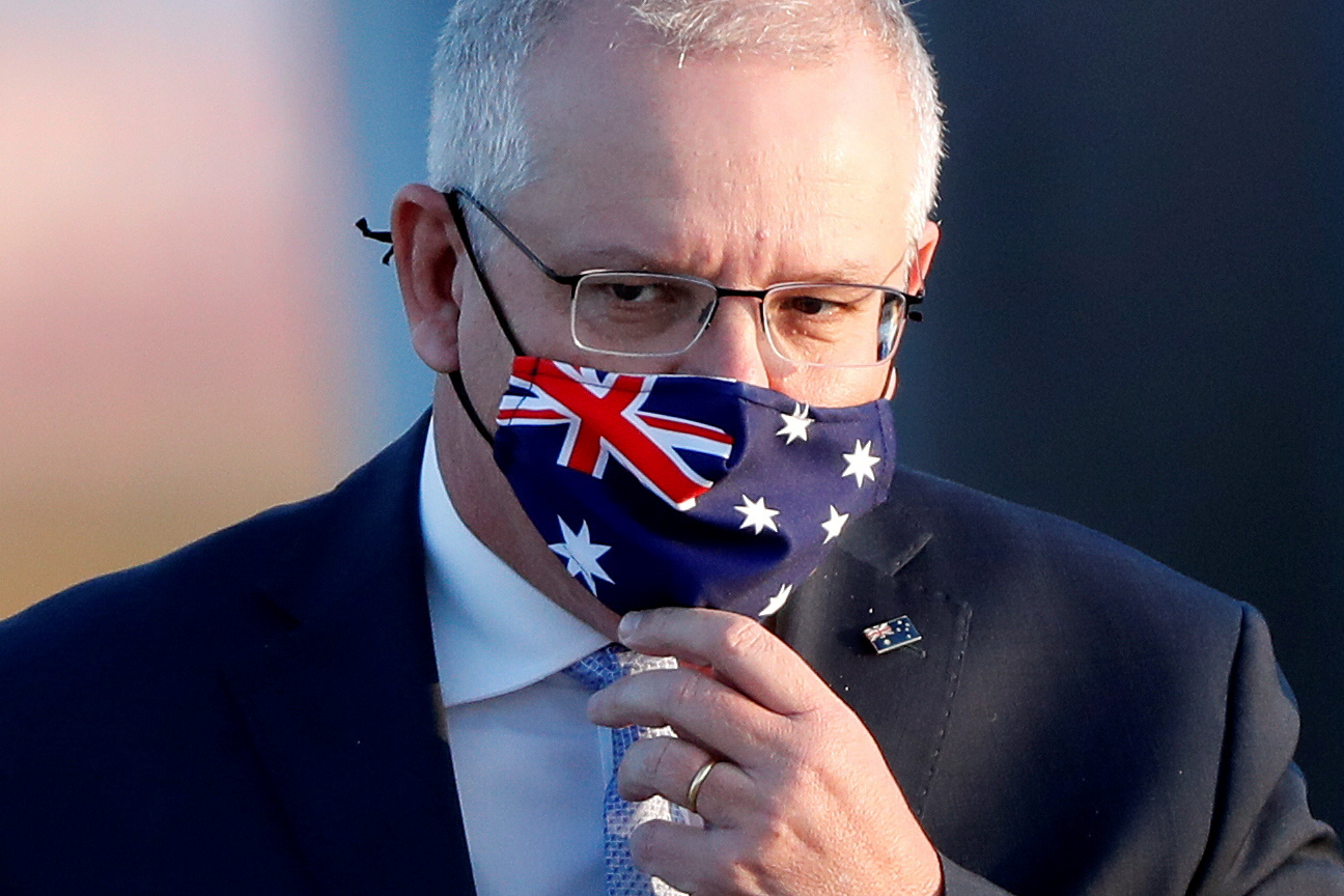 Australia PM wants 80% of adults vaccinated before border opening