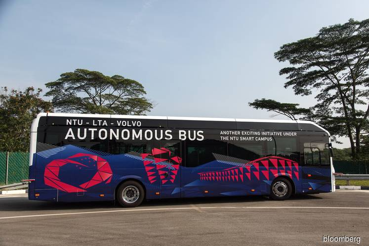 Self-driving buses made by Volvo to hit the roads in Singapore