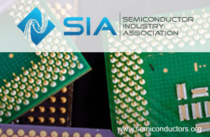 Global semiconductor sales fell 6.2% y-o-y in April to US$25.8b, says SIA