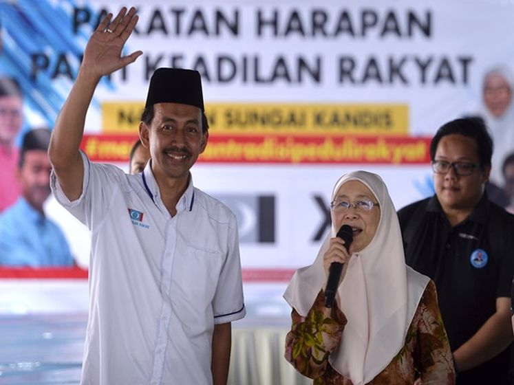 Official: PKR wins Sg Kandis by-election with 5,842-vote majority