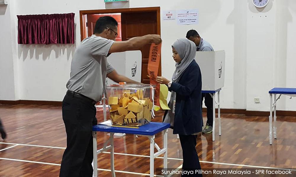 EC closes 19 Sg Kandis polling centres, voter turnout about 45%