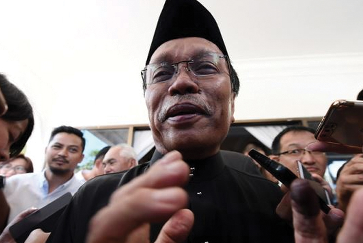 Civil service positions to be filled only if necessary — Mohd Shafie