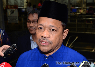 Shahidan plans to sue those behind 'plot to topple government' slander