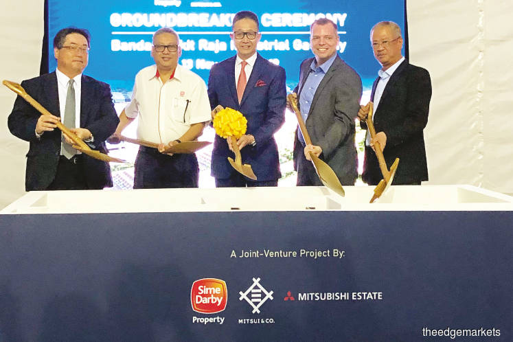 Sime Darby Property partners Japanese firms to build industrial facilities