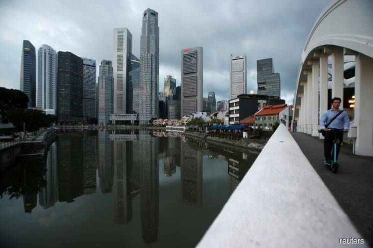 Singapore lone bright spot in Asia commercial property slump
