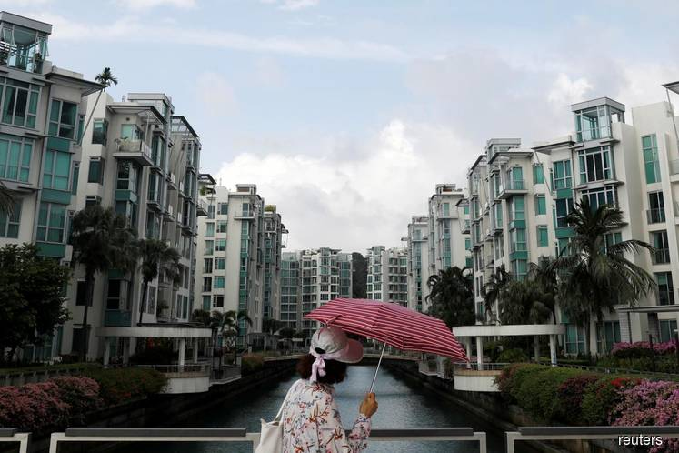 Singapore home sales surge as developers market new projects