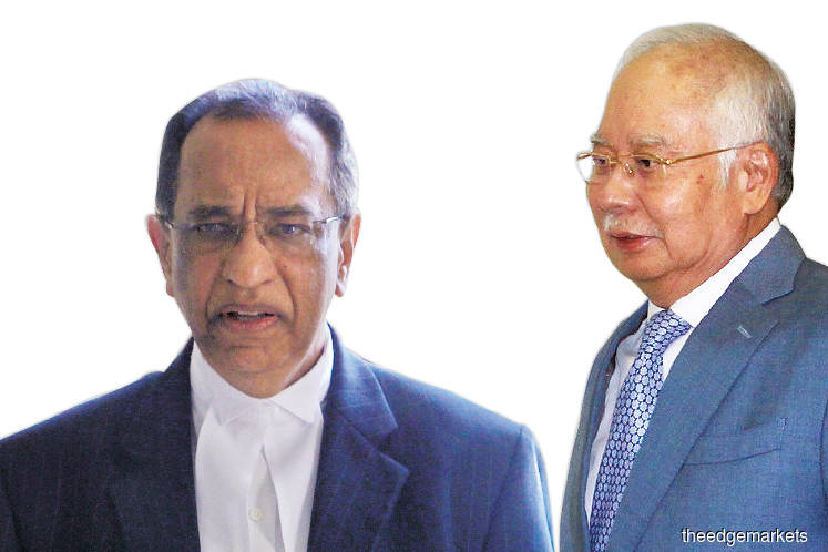 Najib did not know balance but sensed money in account