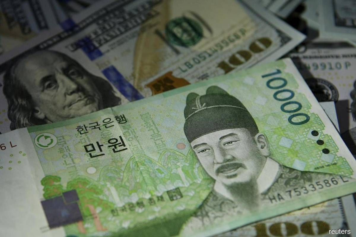 Recovery fears hit South Korea's won as US dollar firms