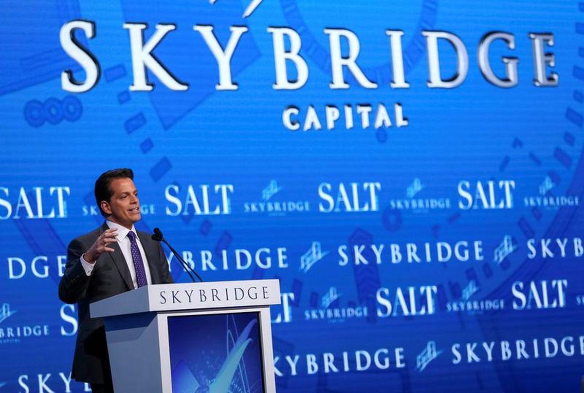 Scaramucci says SkyBridge Capital co-CIO Gayeski has left firm