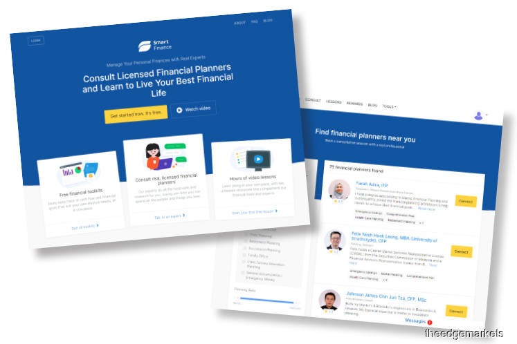 Financial Hacks: Providing easy access to financial planners