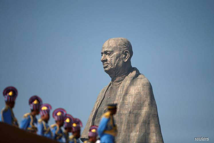 India inaugurates world's tallest statue to celebrate independence hero