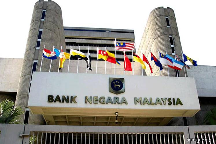 Bank Negara's int'l reserves slid 0.29% to US$104.2b as at Aug 15