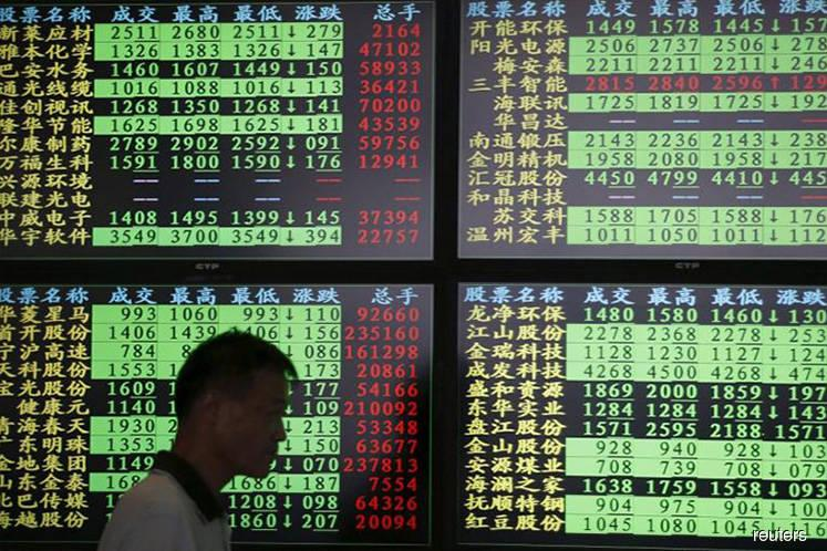 China stocks deepen rout on economic worries, falling yuan