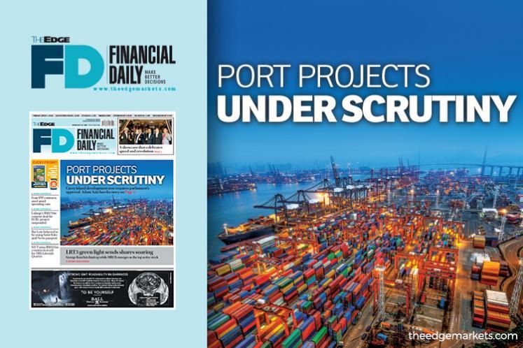 Port projects under scrutiny