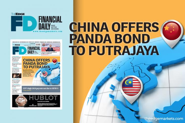 China offers Panda bond to Putrajaya