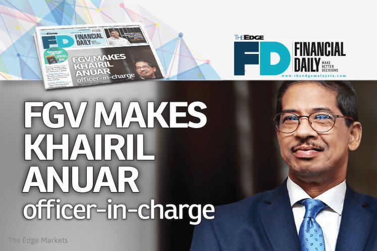 FGV makes Khairil Anuar officer-in-charge