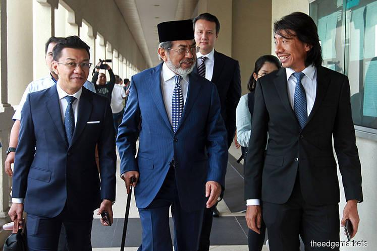 May 6 hearing of Musa Aman's application on legal issues pertaining to his money laundering case
