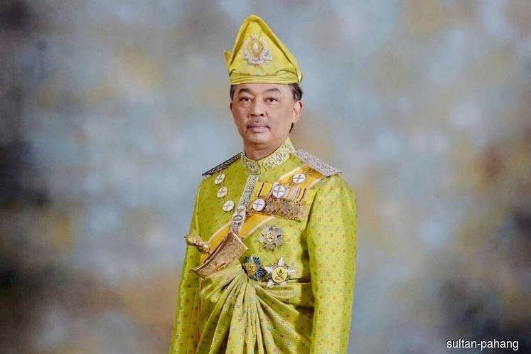 Sultan of Pahang 16th King, Sultan of Perak Deputy King