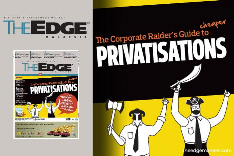 The Corporate Raider's Guide to cheaper PRIVATISATIONS